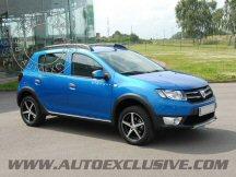 Jantes Auto Exclusive pour votre Dacia Sandero Stepway 2013-