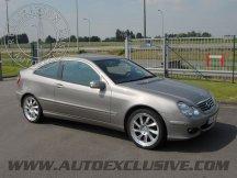 Découvrez les photos de nos réalisations Mercedes Classe C Coupe 2001- 2009