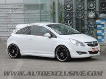 Jantes Auto Exclusive pour votre Opel Corsa D 4X100