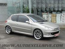 Jantes Auto Exclusive pour votre Peugeot 206