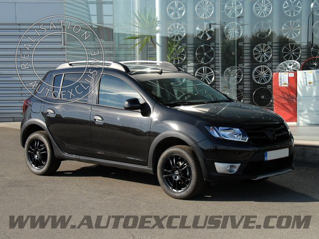 montage de jantes auto exclusive sur sandero stepway 2013 photo dacia008. Black Bedroom Furniture Sets. Home Design Ideas