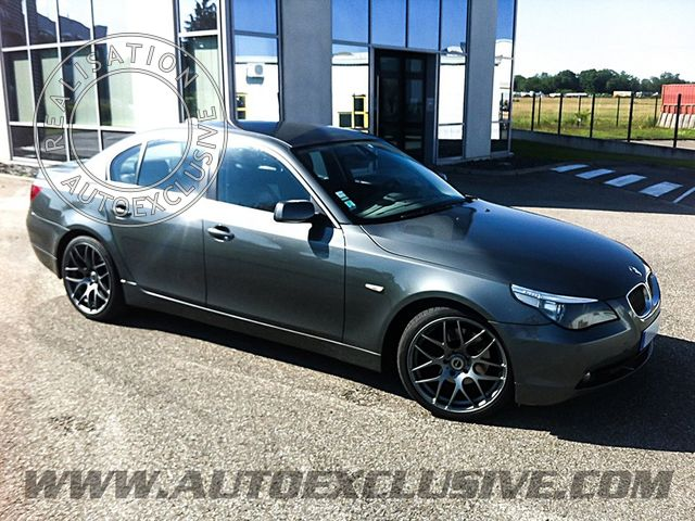Montage de jantes auto exclusive sur serie 5 e60 photo bmw e60 013 - Vente exclusive belgique ...